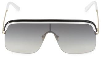 Cutler & Gross 64MM Gradient Shield Sunglasses