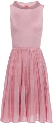 Missoni Pleated Metallic Knitted Dress