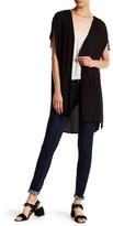 BB Dakota Welch Drawstring Sleeve Cardigan