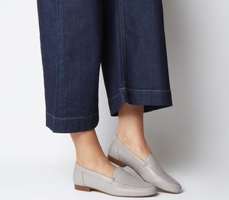 Office Flume Loafers Grey Leather