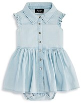 Bardot Junior Girls' Chambray Bodysuit Dress - Baby