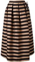 Rochas box pleated skirt - women - Silk/Cotton/Polyester - 40