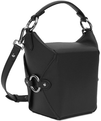 Jeff Wan Bucket Bag Black Lunch Box 11