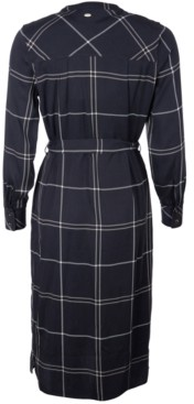 Barbour Perthshire Printed Button-Down Dress