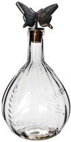 Jan Barboglio Clear Butterfly Decanter