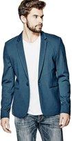 GUESS Men's Long-Sleeve Ponte-Knit Blazer