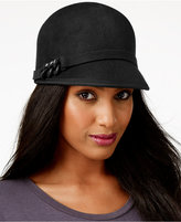 Nine West Chain-Trim Felt Cap