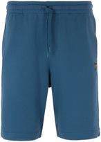 Lyle & Scott Light Teal Jersey Sweat Shorts