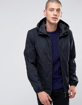 Pretty Green Jacket With Hood In Black