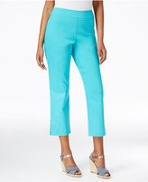 JM Collection Pull-On Cropped Pants, Only at Macy's