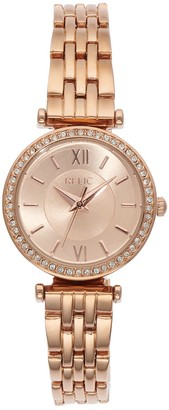 Relic By Fossil Women's Kimberly Rose Gold Tone Watch - ZR34592