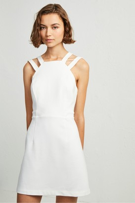 French Connection Whisper Lula Double Strap Dress