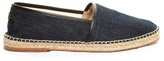 Dolce & Gabbana Leather-trimmed Denim Espadrilles