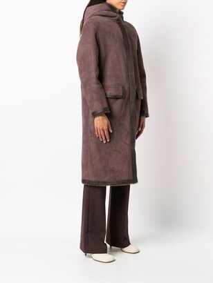 Desa 1972 Oversized Shearling Coat
