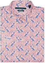 Perry Ellis Short Sleeve Paisley Button-Down Shirt