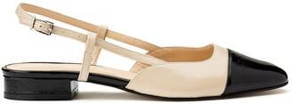 Jonak Dhapou Cutout Ballet Flats in Patent Leather