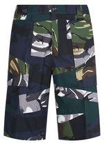 Kenzo Camo Print Shorts