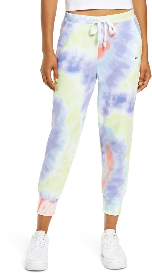 Thumbnail for your product : Nike Dri-FIT Get Fit Tie Dye 7/8 Training Pants