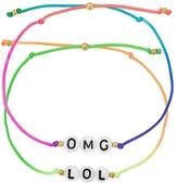 Venessa Arizaga OMG LOL Bracelet Set