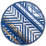 The Beach People The Lorne Round Towel in Blue.