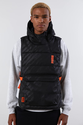 Puma CSM Padded Hooded Vest