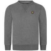 Lyle & Scott Lyle & ScottBoys Mid Grey Marl Crew Neck Sweatshirt
