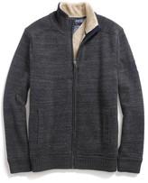Tommy Hilfiger Fleece-Lined Zip Sweater