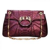 Gucci Purple Exotic leathers Handbag