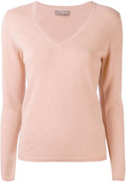 N.Peal classic cashmere v-neck sweater