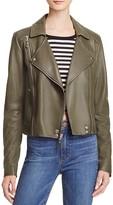 Paige Roanna Leather Moto Jacket