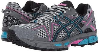 Asics Gel-Kahana(r) 8 (Black/Island Blue/Pink Glow) Women's Running Shoes