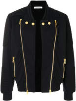 Pierre Balmain double zip bomber jacket