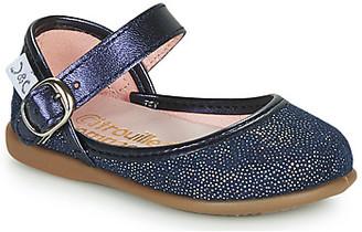 Citrouille et Compagnie JARITO girls's Shoes (Pumps / Ballerinas) in Blue