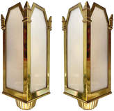 One Kings Lane Vintage Art Deco Theater Sconces