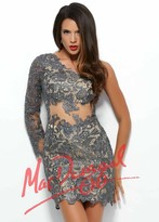 Mac Duggal Prom - 61381R in Smoke Nude