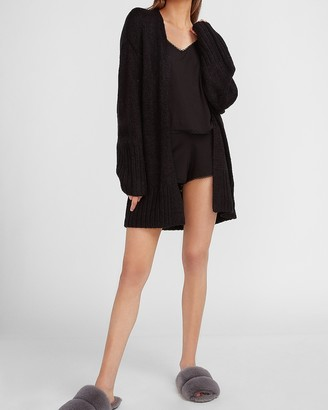 Express Supersoft Lace Trim Pajama Short