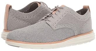 Cole Haan Original Grand Stitchlite Plain Oxford (Rock Ridge) Men's Shoes
