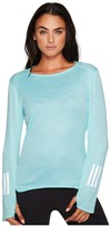 adidas Response Long Sleeve Tee Women's Long Sleeve Pullover