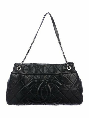 Chanel Timeless Soft Shopper Tote Black