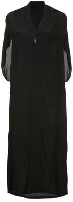 Yohji Yamamoto Pre Owned Sleeveless Kimono Style Dress