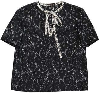 Louis Vuitton \N Navy Silk Tops