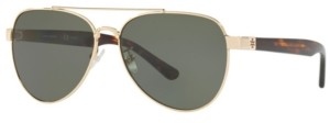 Tory Burch Polarized Sunglasses, TY6070 57