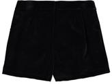 George Black Velvet Shorts