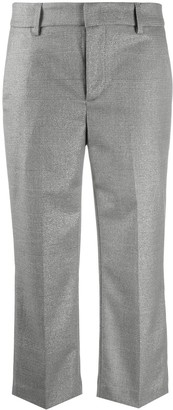 Dondup Cropped Straight-Leg Trousers