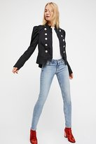 Free People Structured Puff Sleeve Blazer