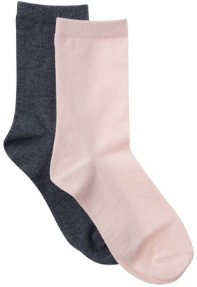 S.O.H.O New York 2 Pack Classic Crew Sock