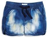 Hudson Infant Girls' Bleached Denim Jog Shorts - Sizes 12-24 Months
