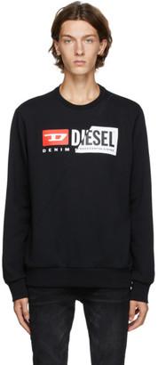 Diesel Black S-Girk Cuty Sweatshirt