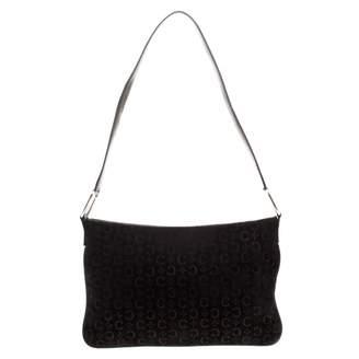 Celine \N Black Suede Handbags