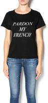 Style Stalker Stylestalker Pardon My French Tee